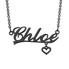 """Love Never Dies"" Personalized Name Necklace"