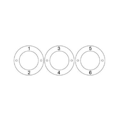 Personalized 3 Circles Bracelet with Engraving