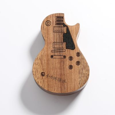 Scannable Spotify Code Custom Music Song Wooden Guitar Picks