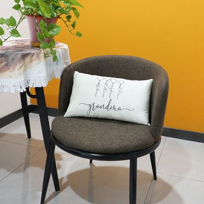 Personalized Family Pillow White